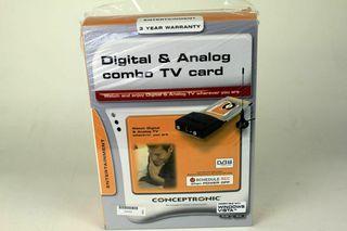 Tarjeta TV Digital y Analógica CTVCOMBOC