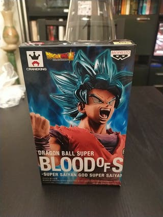 Dragon ball/bola de drac Goku ssj blue kaiohken