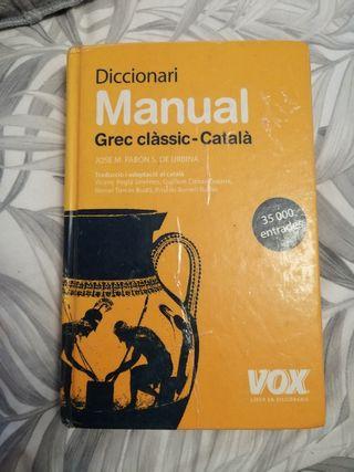 diccionari grec/català