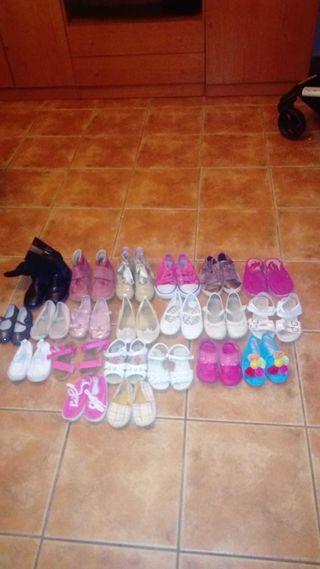 lote zapatos de mujeres y niñas