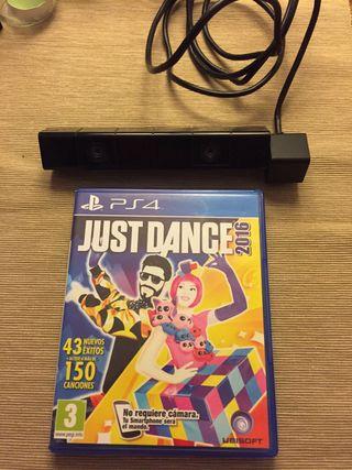 Justa Dance 16 con ps camera