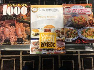 Libros de recetas fáciles y rápidas