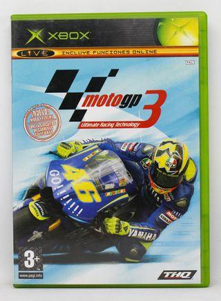 Moto GP Ultimate Racing Technology 3 XBOX PAL ESP