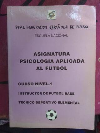 Asignatura Psicologia aplicada al Futbol.