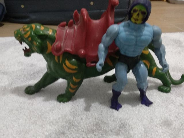 He-Man( Skeletor y Tigre)