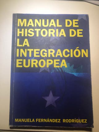 Manual historia de la integración europea