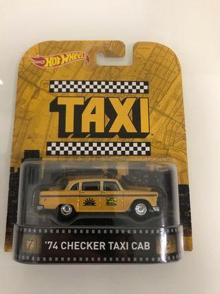 Hot Wheels Retro Taxi