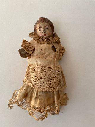 Antiguo niño Jesús terracota siglo XVII