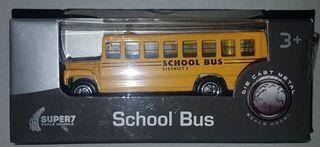 School bus escala 1:60 welly