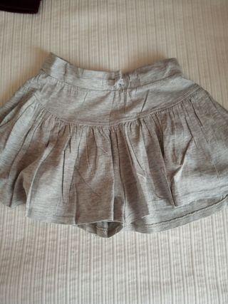 Falda pantalón niña 5-6 años