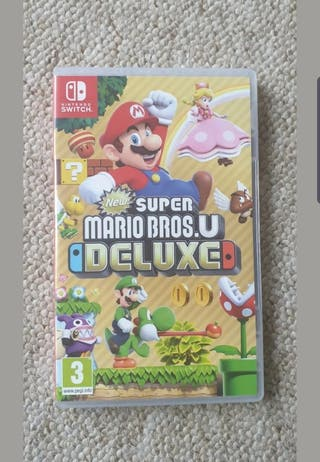 Nintendo switch Mario Bros u Deluxe