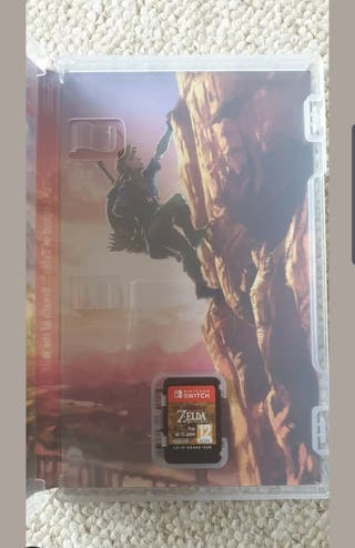 Nintendo switch The Legend of zelda Breath of the
