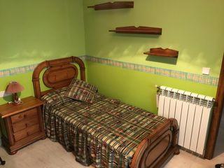 Dormitorio juvenil completo madera de pino