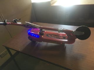 24v pink electric scooters new