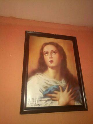 cuadro de la Virgen Maria