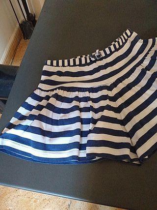 falda pantalón de niña