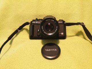 Cámara de fotos Yashica FX-3 2000 super 50 mm.