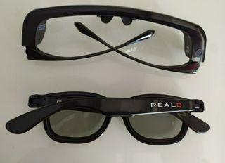 Gafas activas 3D Nuevas y originales