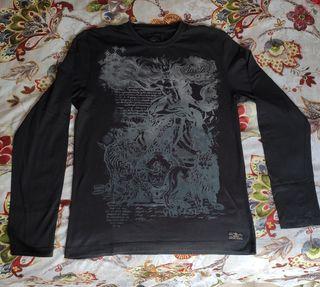 Camiseta manga larga L Hombre