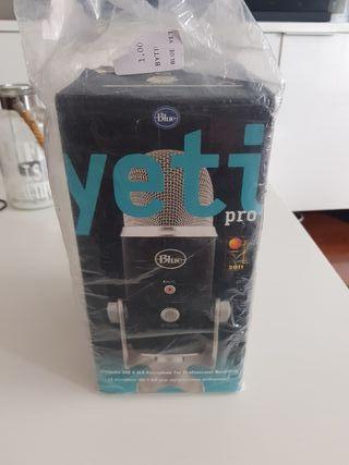 micrófono YETI PRO de Blue