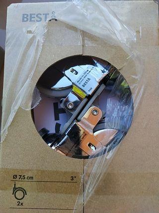tres paquetes de dos ruedas Ikea besta