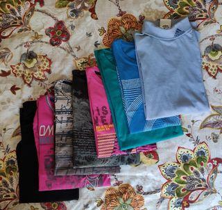 Pack 8 Camisetas hombre talla L-XL