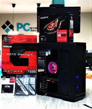 PC Gaming Ryzen 7 de 8 núcleos y RX 580 8GB