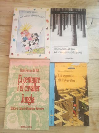 libros de lectura bachillerato y ESO precio por un