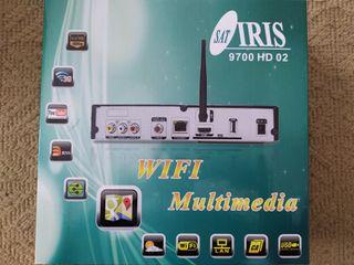 Decodificador satélite Iris 9700 hd 02