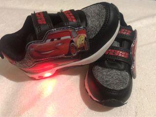 Zapatillas infantiles Cars talla 23