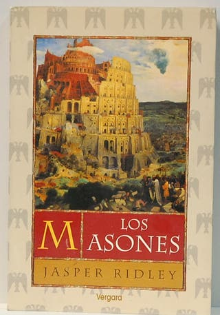 "Libro""LOS MASONES"" JASPER RIDLEY"