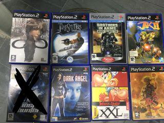 Play 2. Ps2. Juegos playstation