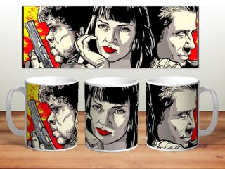 Taza personalizada Pulp Fiction