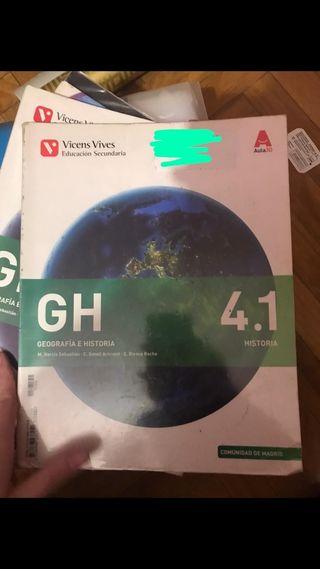 Libro geografia e historia 4 de eso
