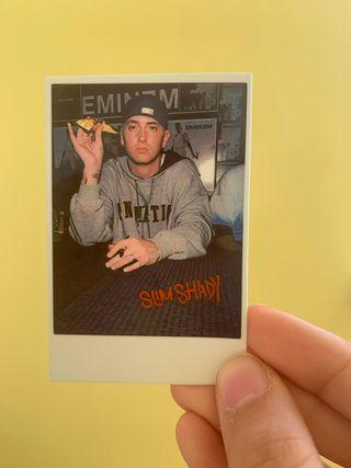 Eminem slim shady Polaroid