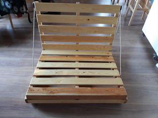 Cama futon individual plegable
