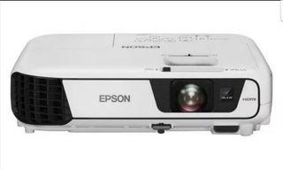 proyector epson + pantalla + soporte