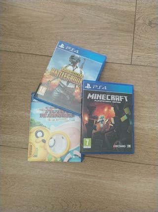 Lote de videojuegos PS4