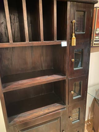 Armario estanteria madera maciza