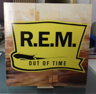 DISCO VINILO REM,OUT OF TIME.