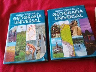 2 Libro enciclopedia geografía universal 1980
