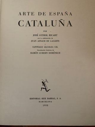ARTE DE ESPAÑA Y CATALUÑA