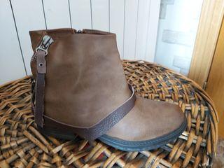 botas n37 de piel