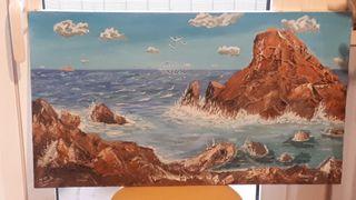 mar y rocas,