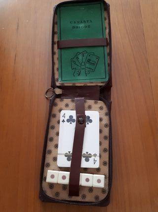 Juego de mesa cartas de póker y dados precintado