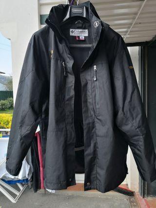 chaqueta esqui nieve negra Colombia
