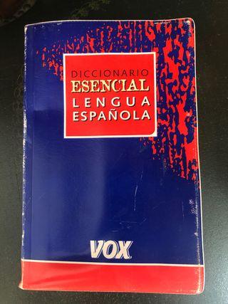 Diccionario vox español