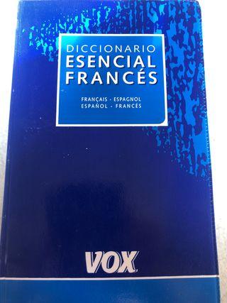Diccionario vox francés