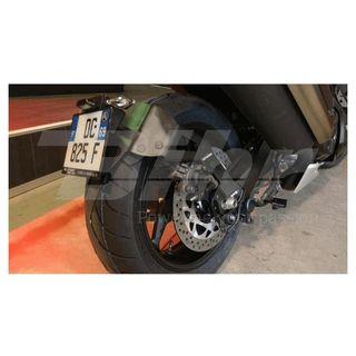 Portamatrículas a la rueda Yamaha TMAX 530 (12-18)