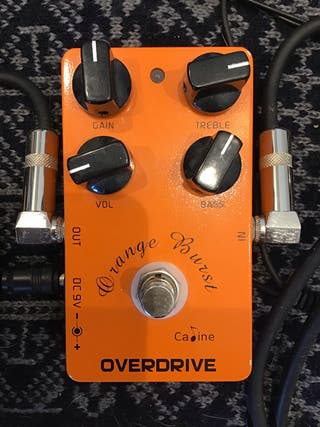 Pedal efecto guitarra Overdrive